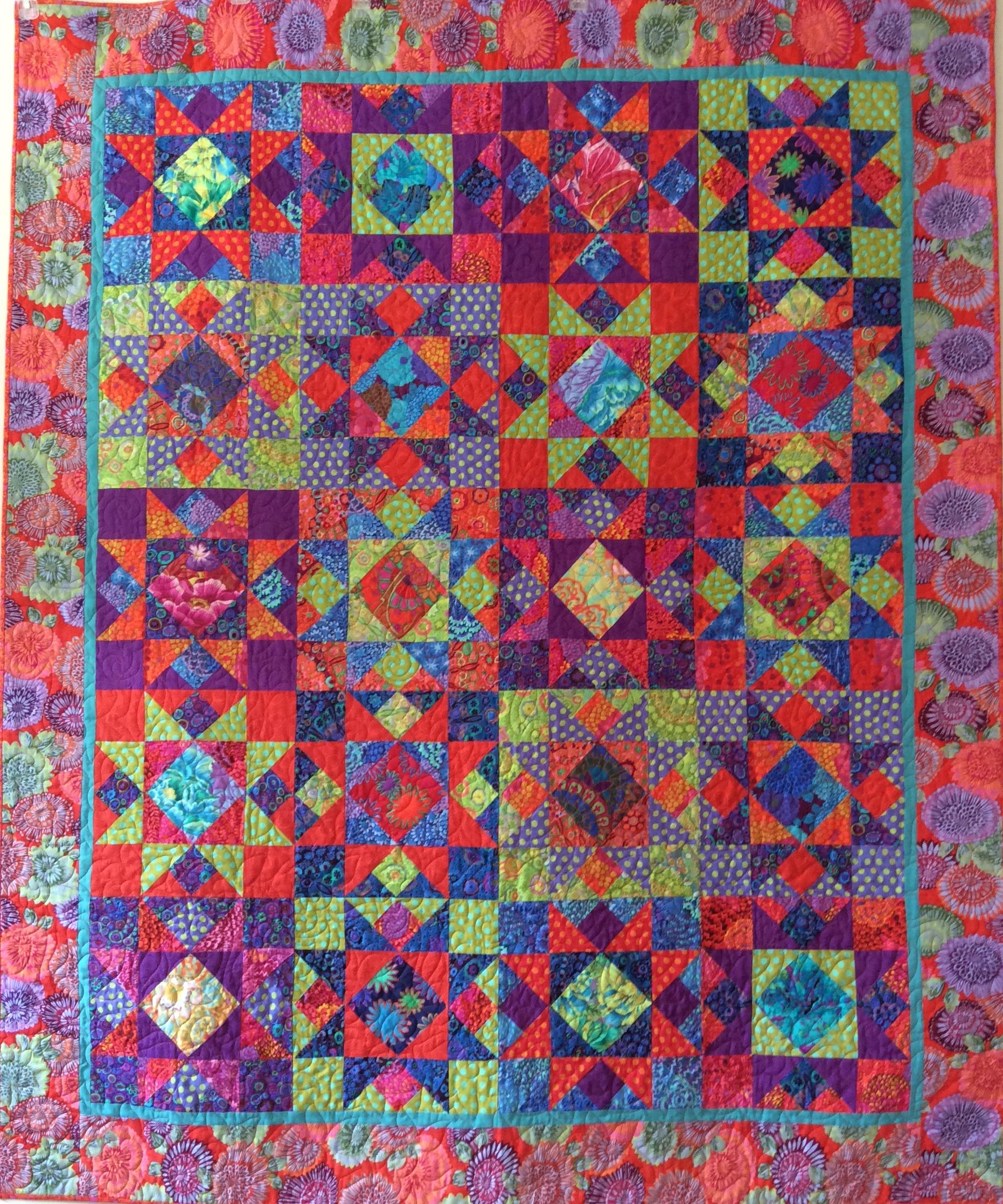 Kaffe Fassett Mardi Gras Star Quilt Kit Portsmouth Fabric Co