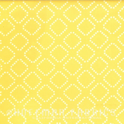 Dotty Diamonds  Lemon 1