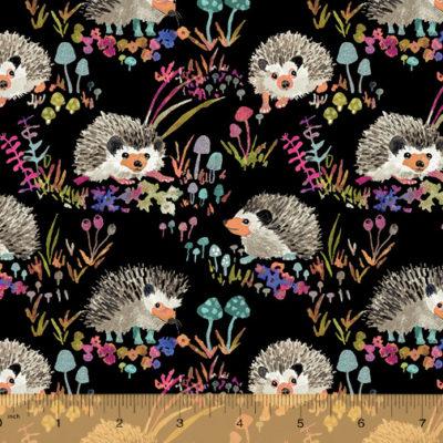 Hedgehog  Black