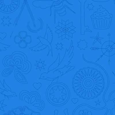 Embroidery  Hydrangea