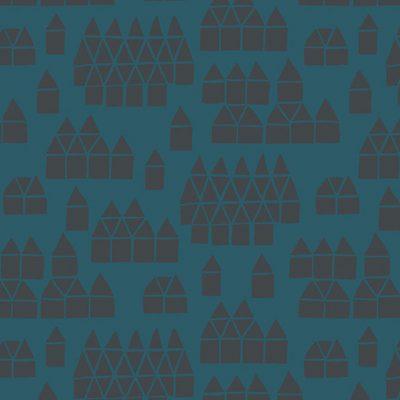 Village  Blue