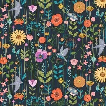 Field Of Flowers  Midnight