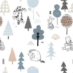 Forest Friends  White