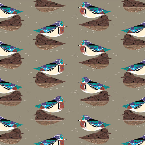 Wood Duck  Taupe