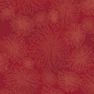 Floral Elements  Scarlet