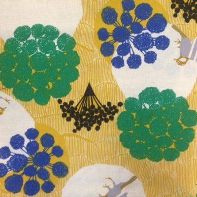 Circle Birds  Mustard