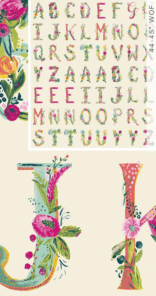 Joyeux Alphabet  Panel