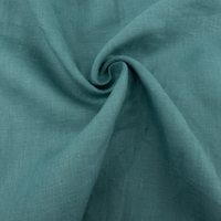 Linen Solid  Pacific Blue
