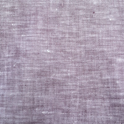 Yarn Dyed Linen  Raisin