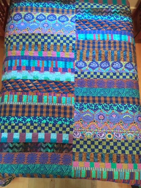 Kaffe Fassett Artisan 1 Off Stripe Quilt Kit   Portsmouth Fabric Co : kaffe fassett quilt kit - Adamdwight.com