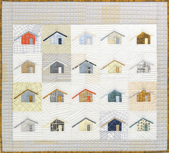 PAPER PIECED MODERN DESIGNS 2: AUSTIN HOUSE OR OUTHOUSE