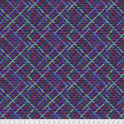 Mad Plaid  Purple