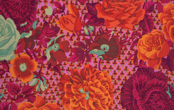 Cabbage & Rose Fuchsia