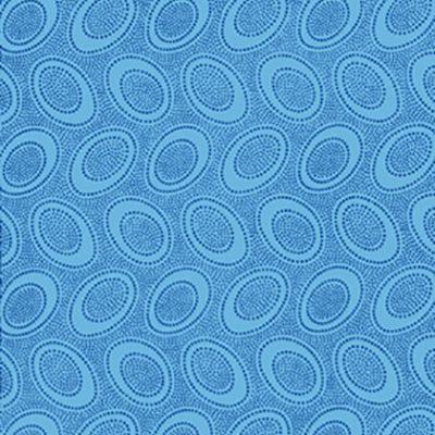 Aboriginal Dot  Turquoise