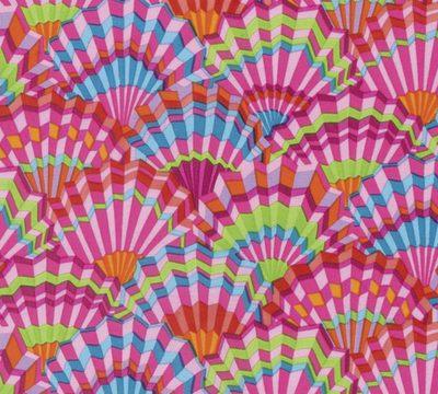 Paper Fans  Pink