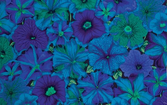 Petunias Blue