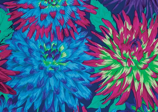 Cactus Dahlias Blue 1