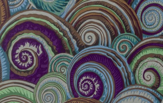 Spiral Shells  Antique