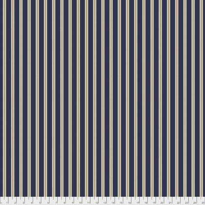 Gilt Stripe  Navy