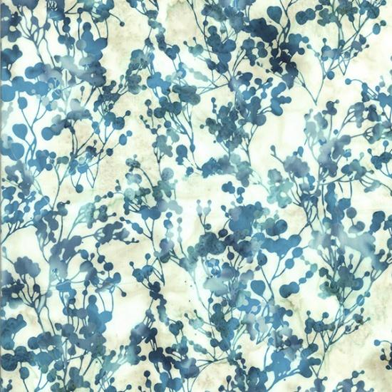 Dot Foliage  Turquoise