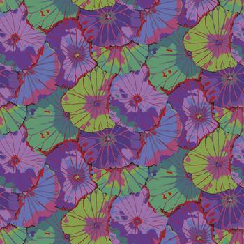 Lotus Leaf  Purple