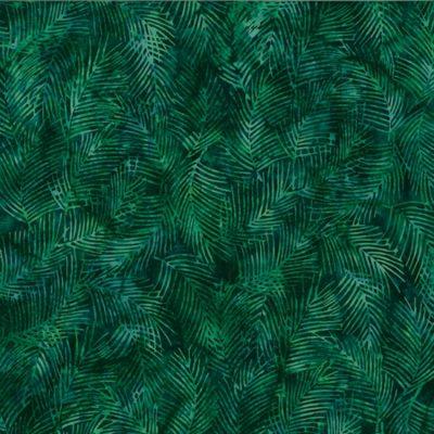 Fringe Leaf  Christmas Green