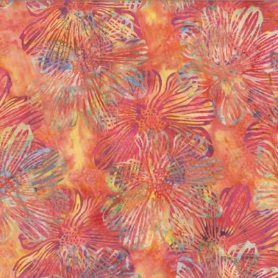 Stylized Floral  Sherbet