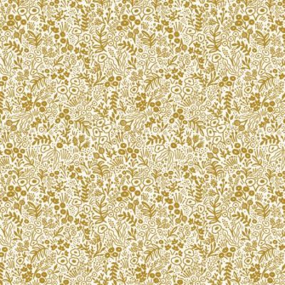 Tapestry Lace  Gold Metallic