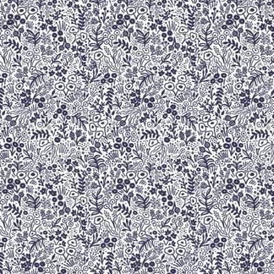 Tapestry Lace  Navy