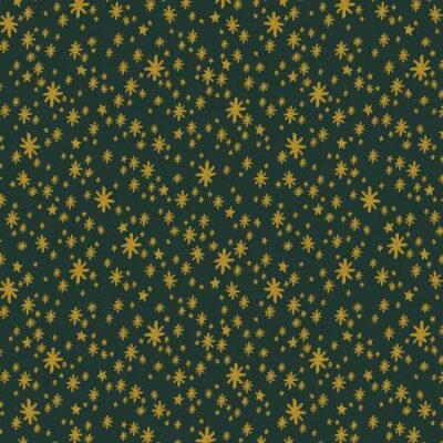 Starry Night  Evergreen Metallic