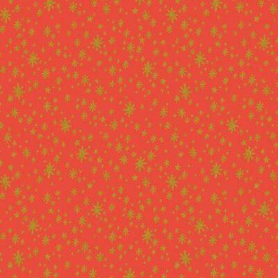 Starry Night  Red Metallic
