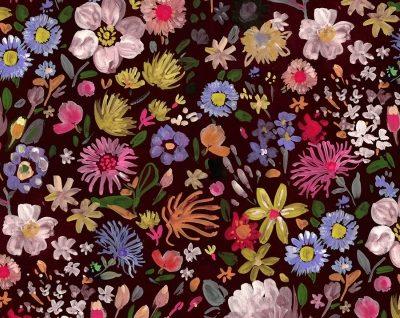 Autumn Floral  Multi