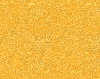 Scallop Dot  Citrus