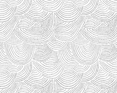 Scallop Dot  White