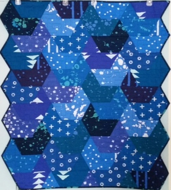 Jaybird Quilts Splash Quilt Kit ~ Alison Glass Handcrafted Indigos Portsmouth Fabric Co