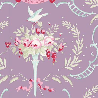 Bridsong  Mauve Lilac