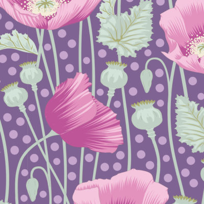 Poppies  Lilac