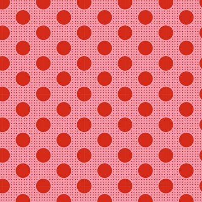 Medium Dots  Salmon