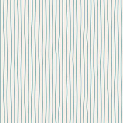 Pen Stripe  Light Blue