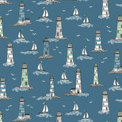 Lighthouses  Blue