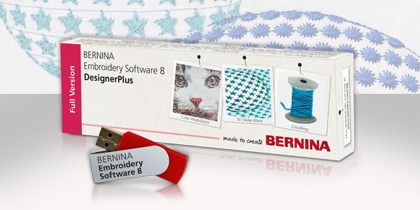 Bernina Designer Plus Software V8 Workbooks Portsmouth Fabric Co