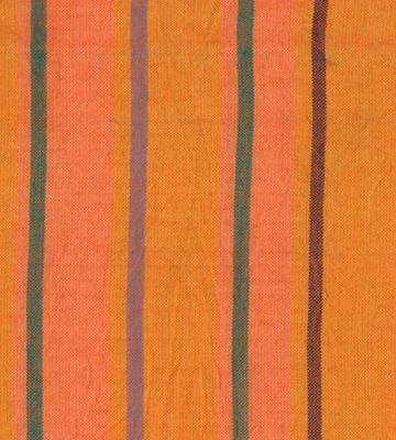 Alternating Stripe Orange