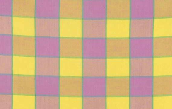 Checkerboard Plaid Ikat  Pink
