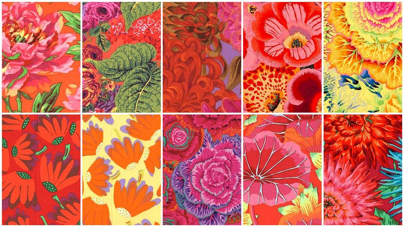 Kaffe Fassett Jewel Frames Kit Portsmouth Fabric Co
