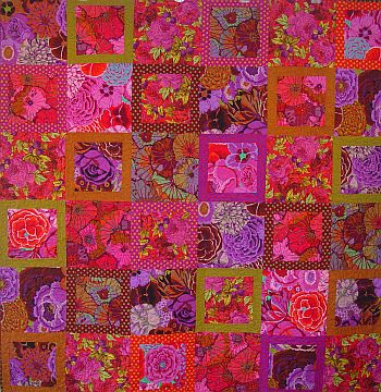 Kaffe Fassett Blooming Nine Patch Portsmouth Fabric Co