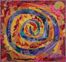 SUSAN CARLSON ~ WHAT GOES AROUND COMES AROUND ~ SPIRAL